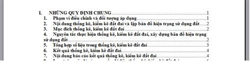 Cách tạo mục lục tự động trong Word - http://thuthuatvitinhaz.blogspot.com/