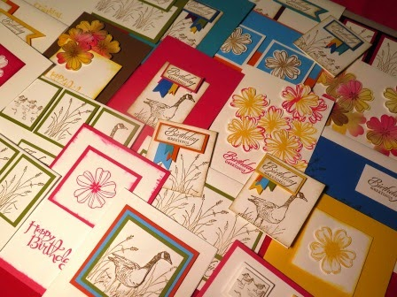 Cards made so far by zena kennedy independant stampin up demonstrator