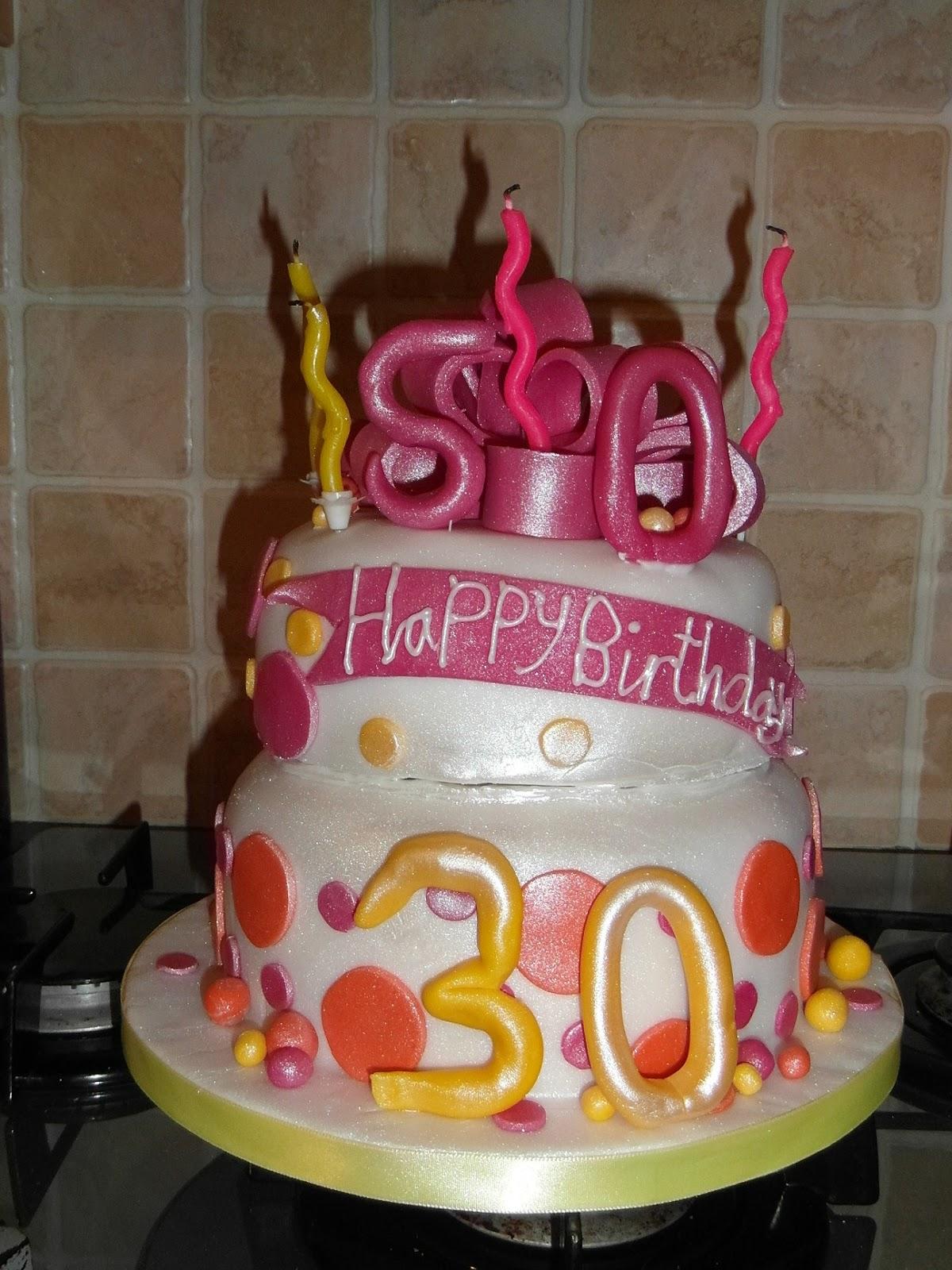 Back Of Beyond Baking Girly Birthday Cake Baking