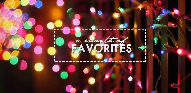 A Month of Favorites, December 2014
