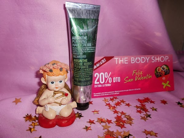 CREMA DE MANOS DE ABSENTA (The Body Shop)