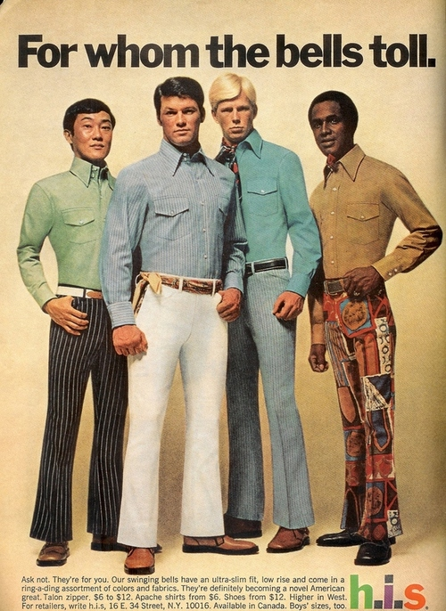 Hubo un tiempo que no fue hermoso para la moda masculina, y sin dudas fueron los años 70. A continuación, unos modelitos no aptos para cardíacos de la mano