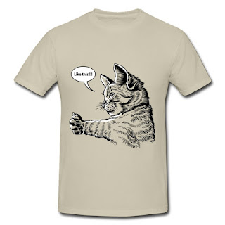 funny cat shirts like this