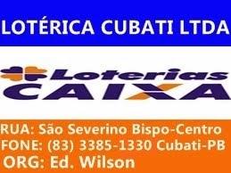 Lotérica Cubati LTDA