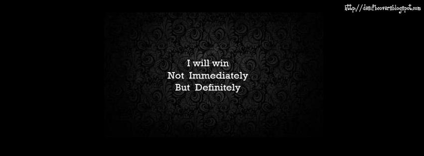 Will Win Inspirational FB Cover