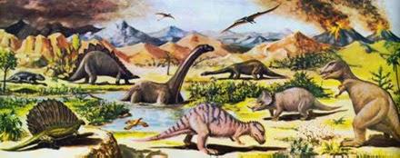 Resultado de imagen de La extinción masiva del Cretácico