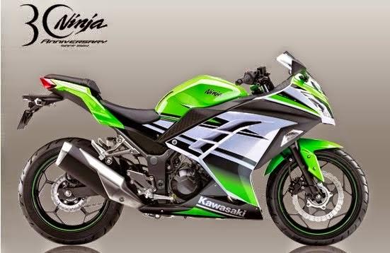 Kawasaki Ninja 250 Special Edition ABS 30th