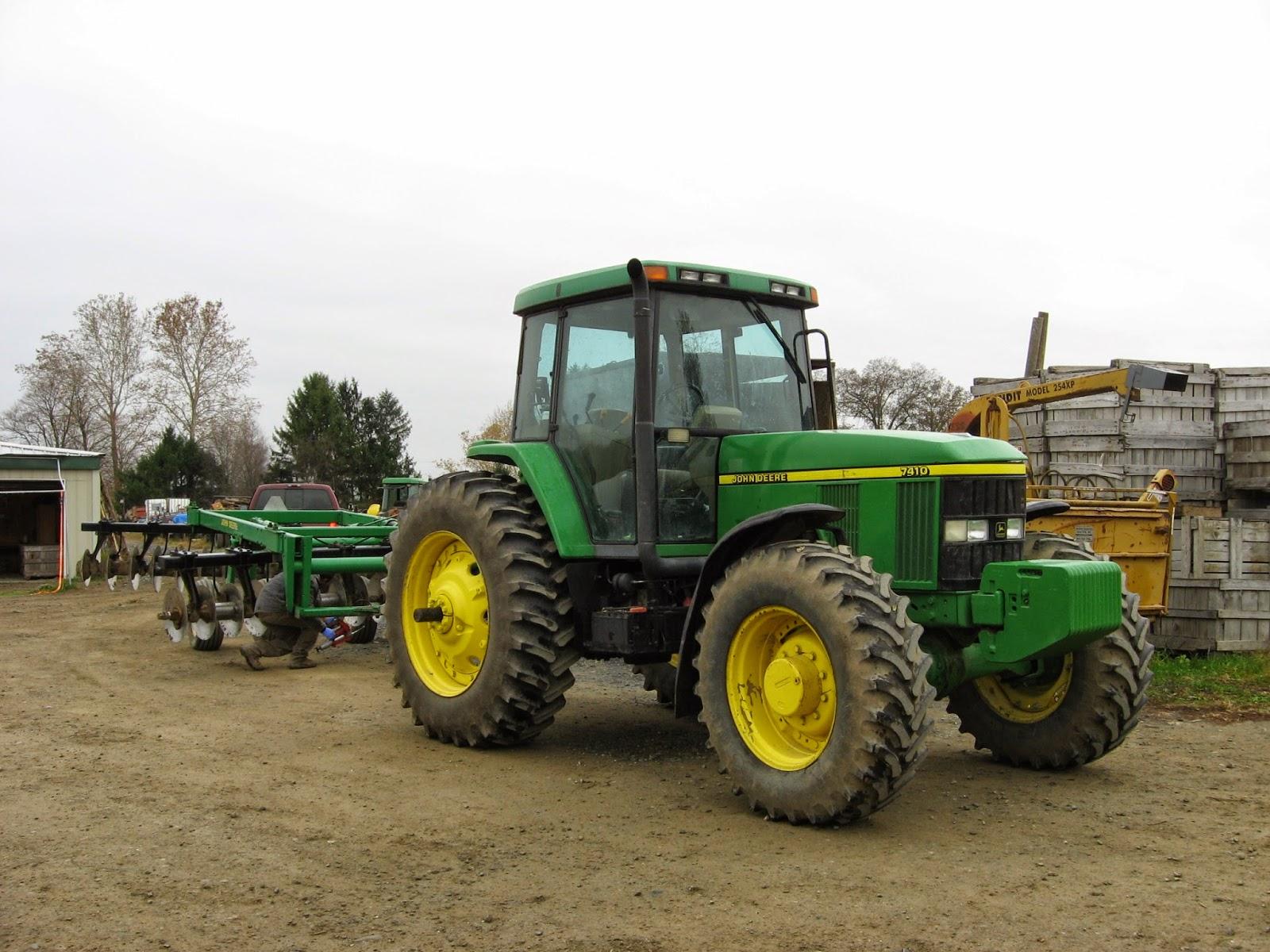 John Deere 7410 tractor