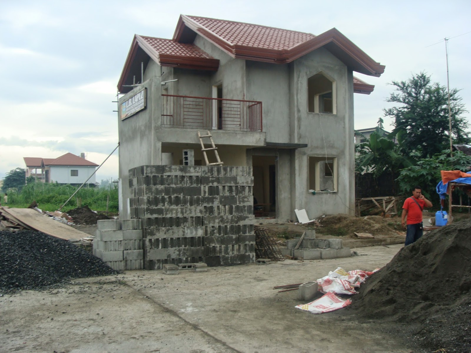 Two storey 2 bedroom home fitting in an 80 square meter 8 meters x - 3 Storey House Designs Iloilo 2 Storey House Design In Philippines Iloilo House Design For 120