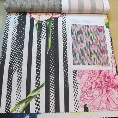 Papeles pintados aribau air de paris nuevas telas de christian lacroix para designers guild - Designers guild telas ...