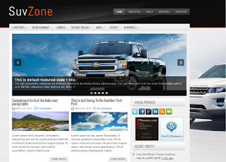 WordPress-Template SuvZone