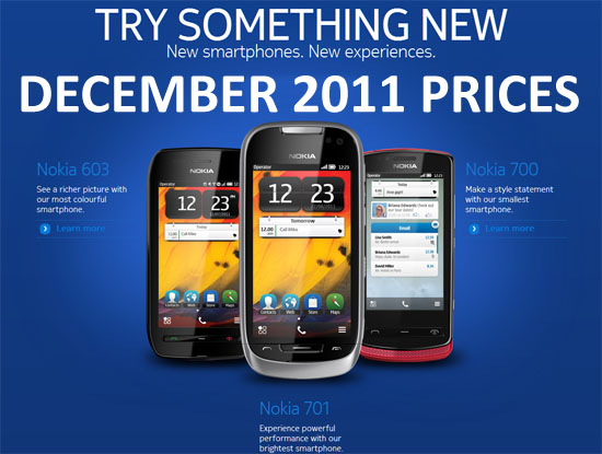 Nokia Mobile Prices December 2011 Saudi Arabia