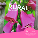 Rural Magazine IN PRINT order yours today. 44 Gorgeous pages. Click Image.