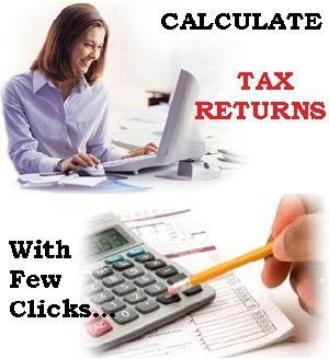 How do I calculate my Tax Return and Refund for 2013 in India?