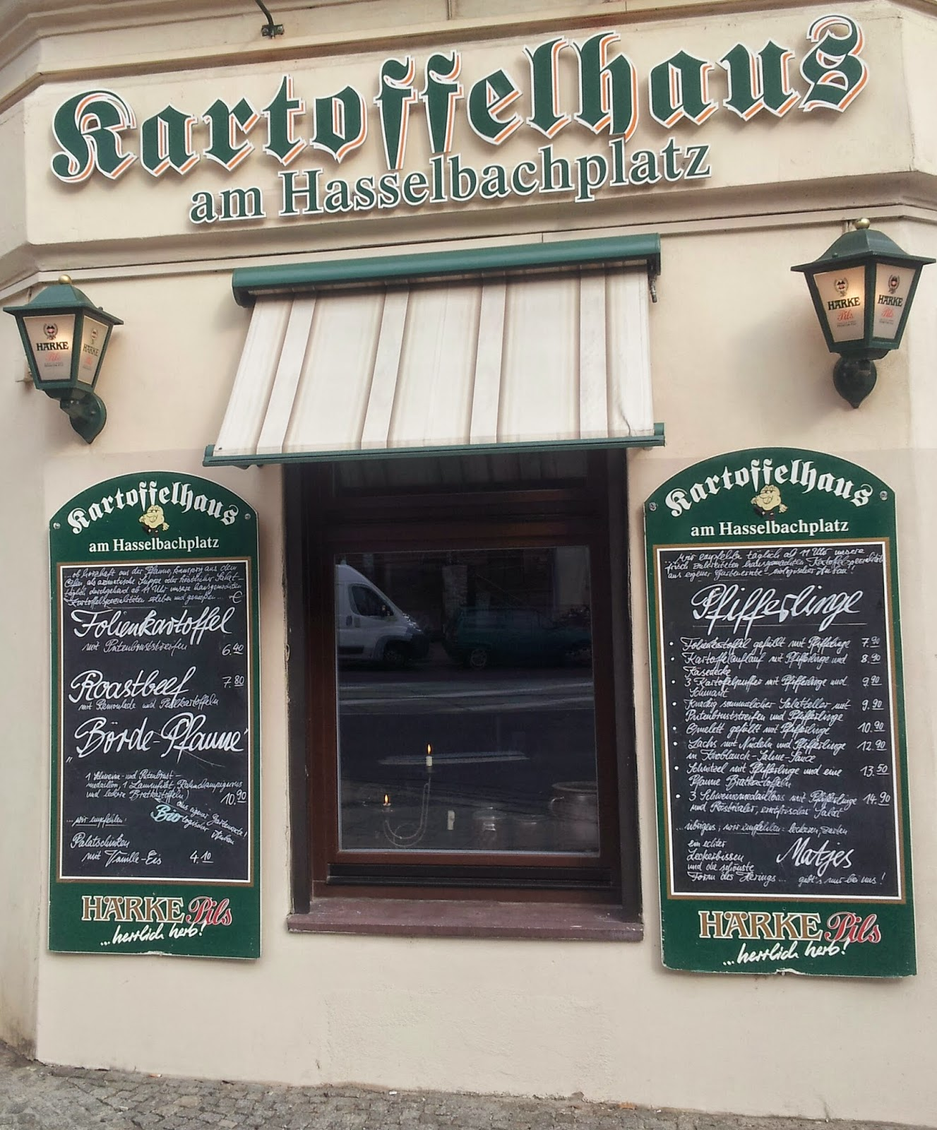 A typical German restaurant near the Language Academy