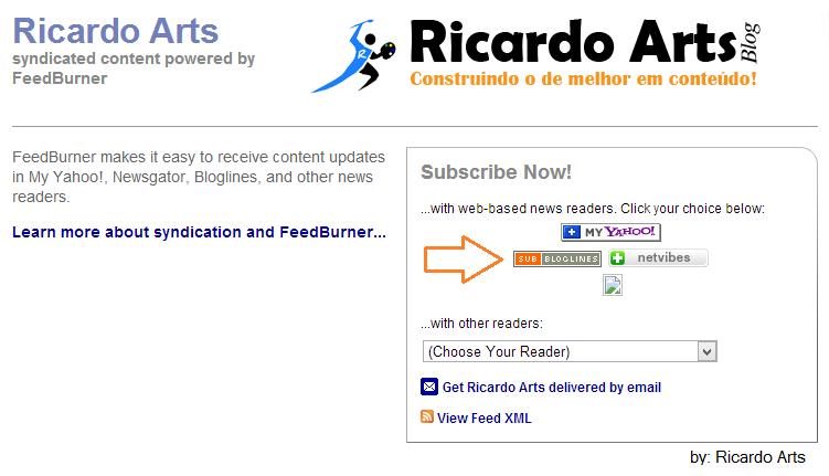 Gerenciadores de Feed/RSS