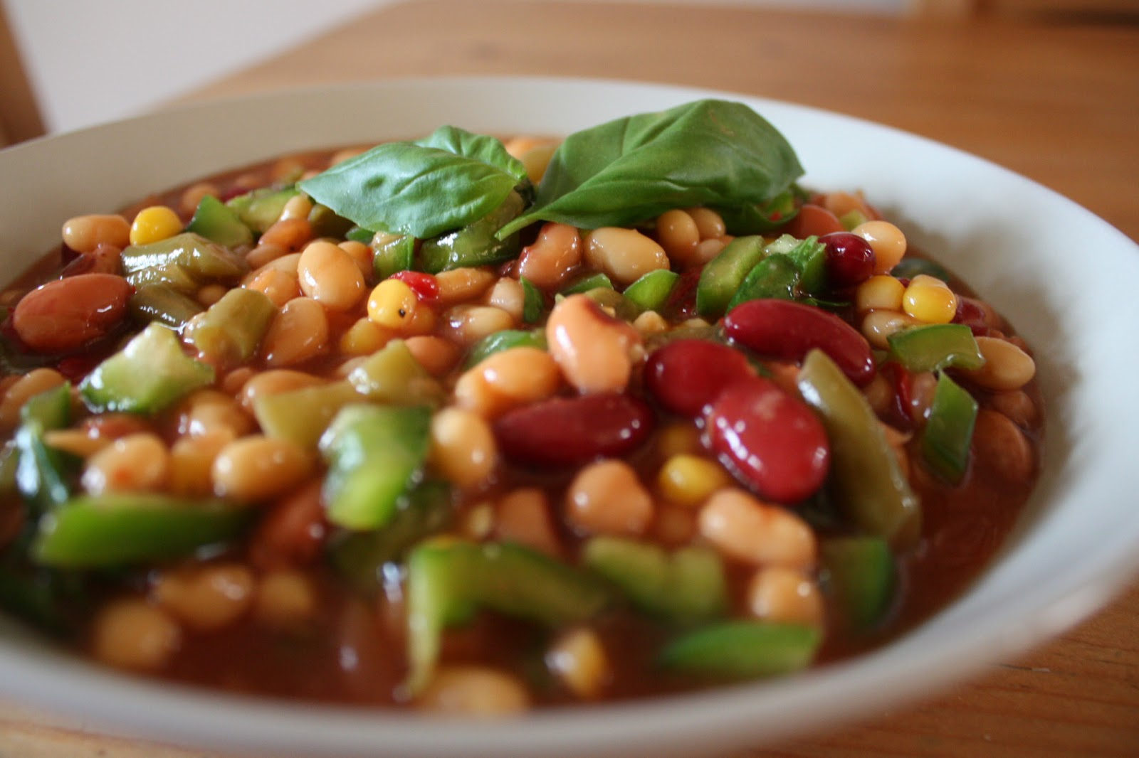 Three-Bean Baked Beans Recipe — Dishmaps