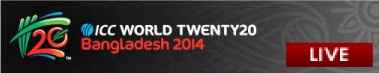 ICC T20 World Cup 2014 Live click here