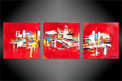 Jo lle caria artiste peintre toiles tableaux modernes contemporains la nouvelle - Salon international d art contemporain toulouse ...