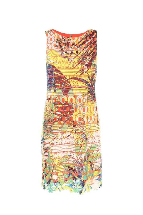 Φορεμα δαντελα μ ζωγραφικη / New Collection !