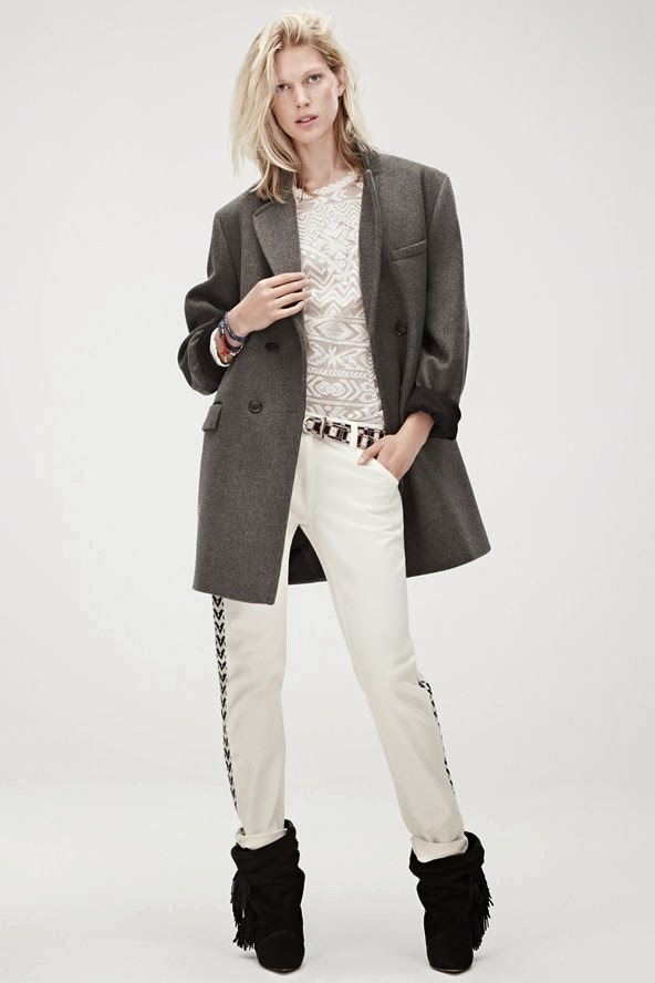 Isabel Marant For H&M lookbook