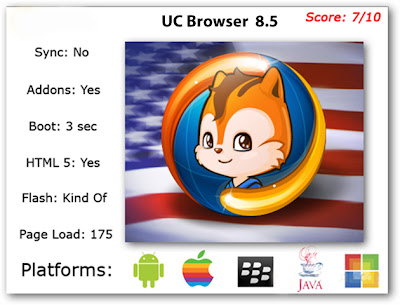 Free Download UC Browser 8.5 for Android and Symbian