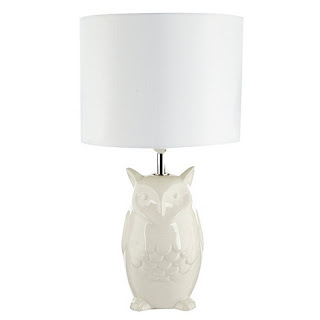 owl lamp debenhams