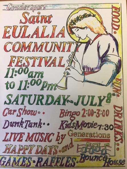 7-8 St. Eulalia Community Festival