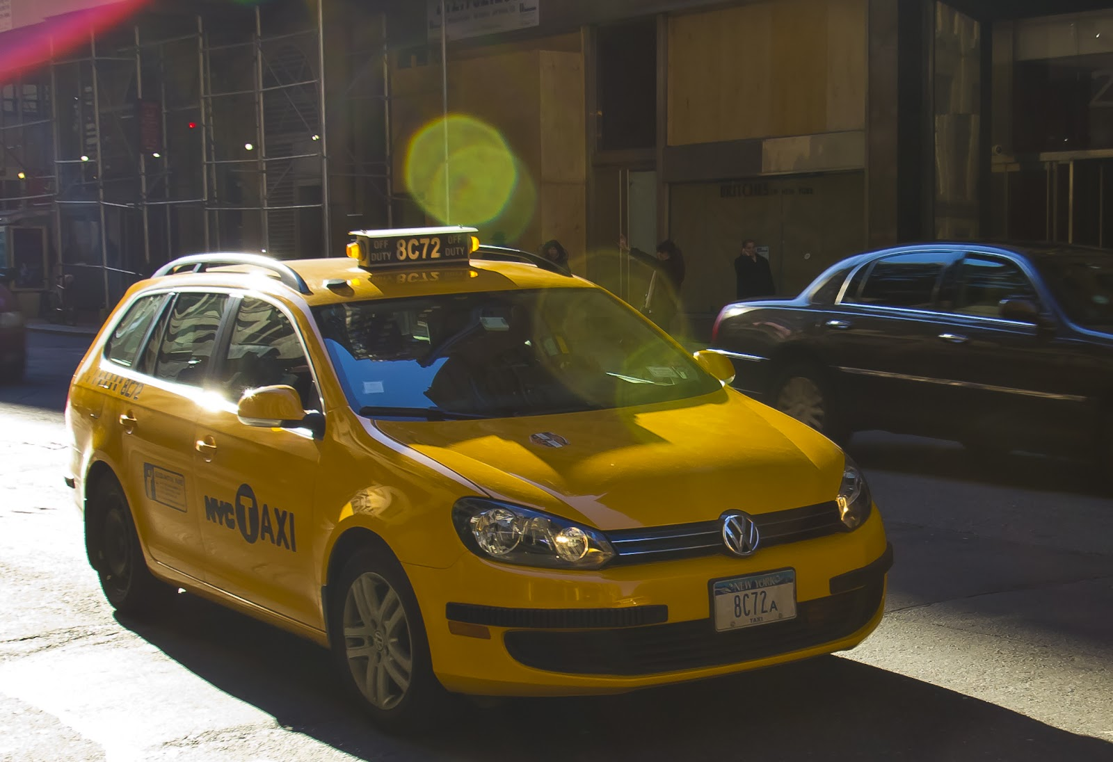 genickstarre nyc yellow cabs oder warum sind taxis gelb. Black Bedroom Furniture Sets. Home Design Ideas
