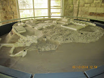 Model of Meggido: It was conquered, razed and rebuilt 25 times!  Alleged site of Armegeddon ...