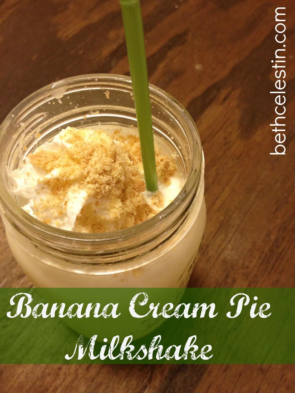 Banana Cream Pie Milkshake Recipe — Dishmaps