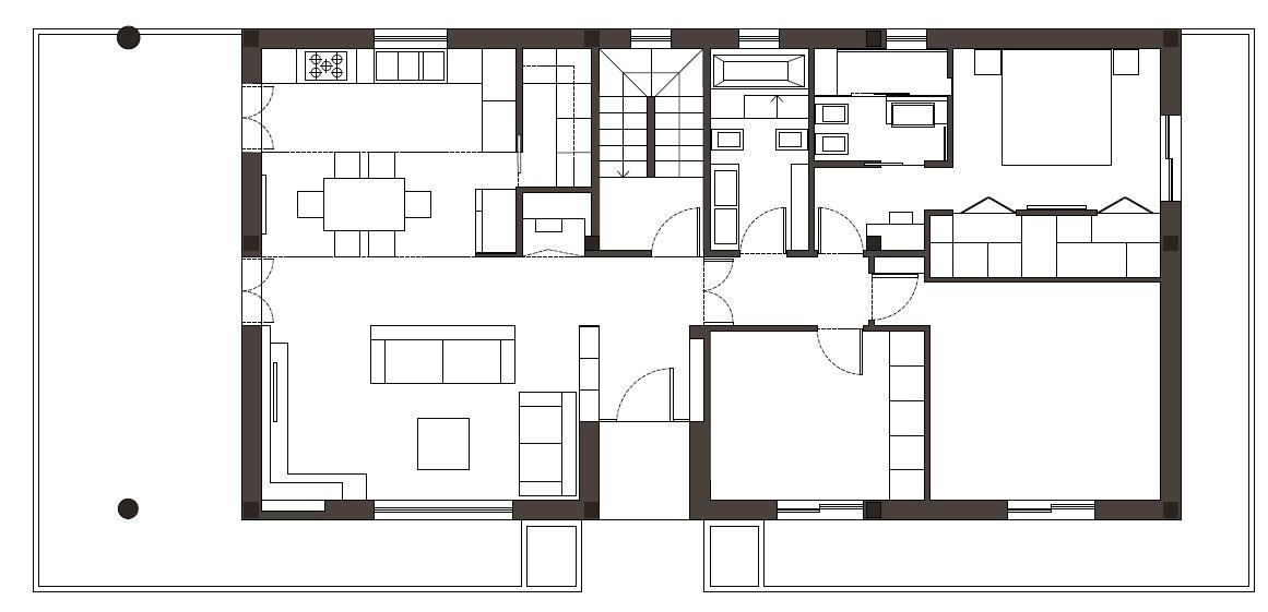 Cafelab presenta i nuovi interni di una villa sul lago for Progetti ville a due piani