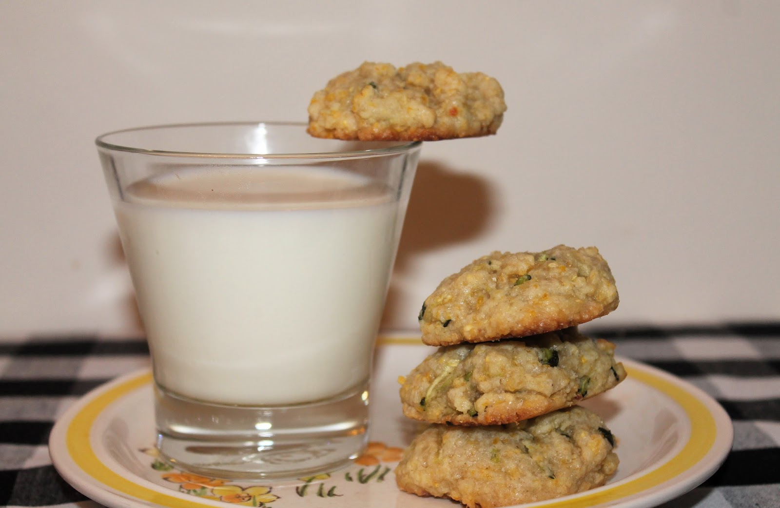 Savory Moments: Lemon-zucchini cornmeal cookies