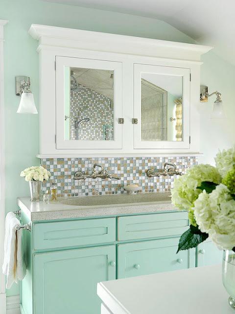 Bathroom Color Schemes Modern : Colorful bathrooms decorating ideas color schemes