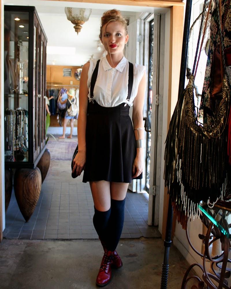 socks girl