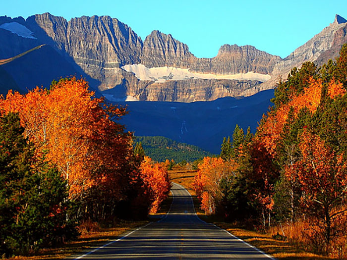 Glacier National Park, Montana - Most Breathtaking National Parks to Visit for Fall Colors