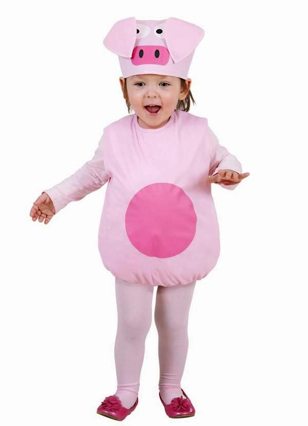 Baby gris til fastelavn
