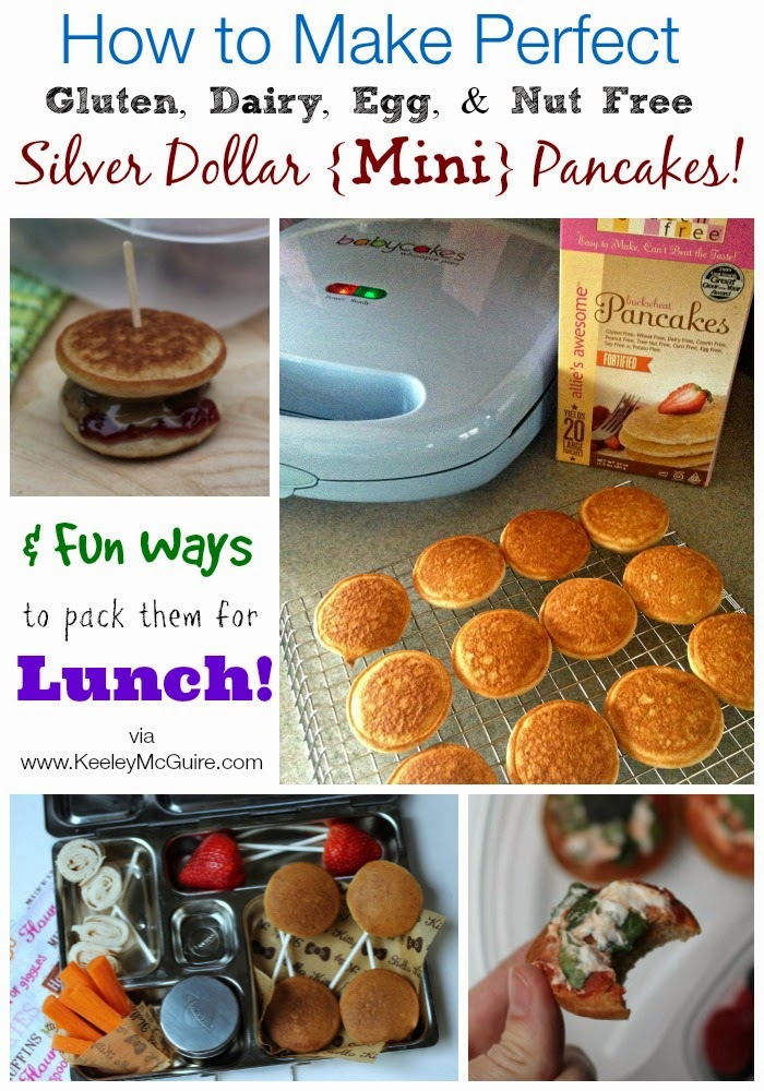Gluten Free & Allergy Friendly: How to Make PERFECT Silver Dollar ...