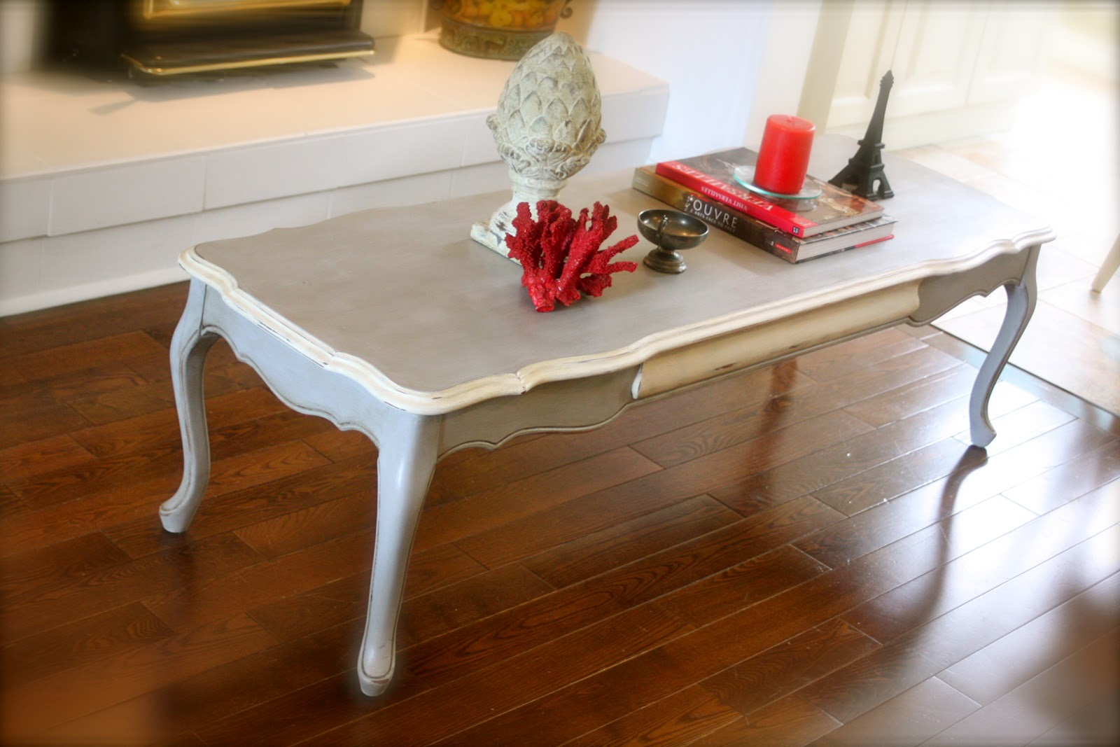 The White Pear Tree A new coffee table and why its called