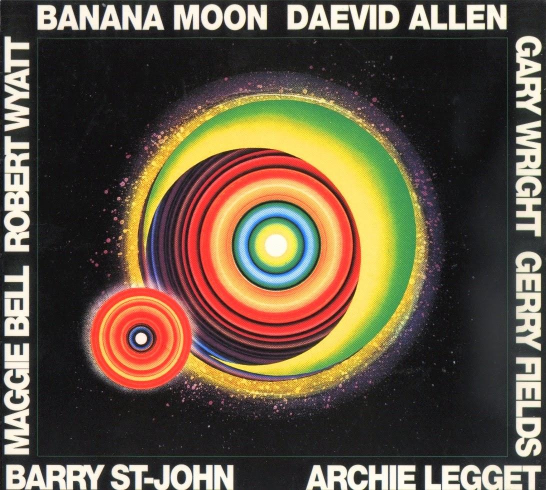 daevid allen - banana moon actuel 45