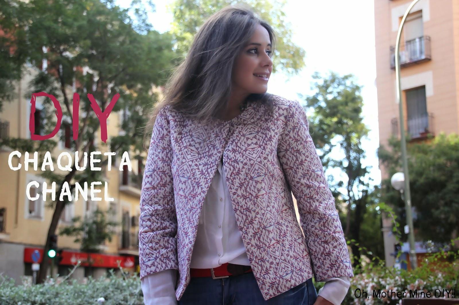 Cómo hacerte una chaqueta de Chanel