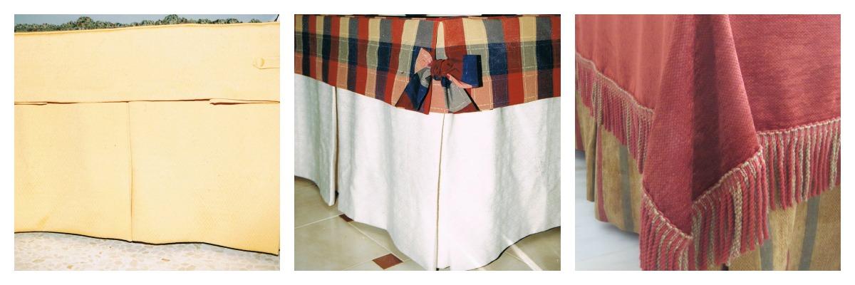 Patrones de costura tapetes para faldas de camillas - Faldas mesa camilla ...