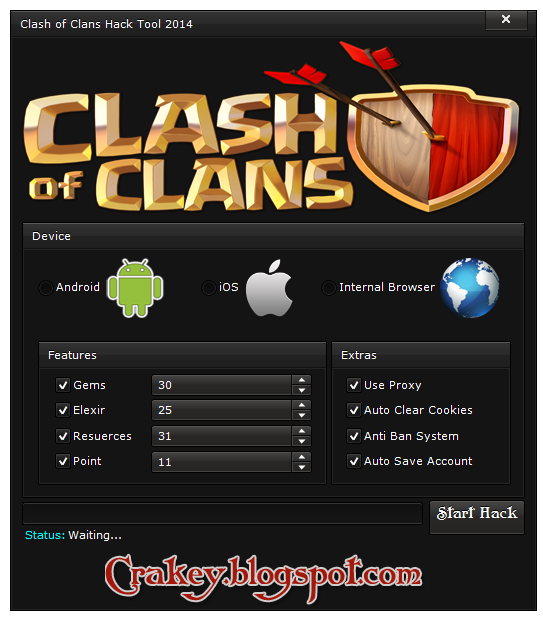 Clash of Clans Hack & Cheats