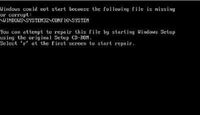 Reparar sistemas de archivos dañados Windows XP