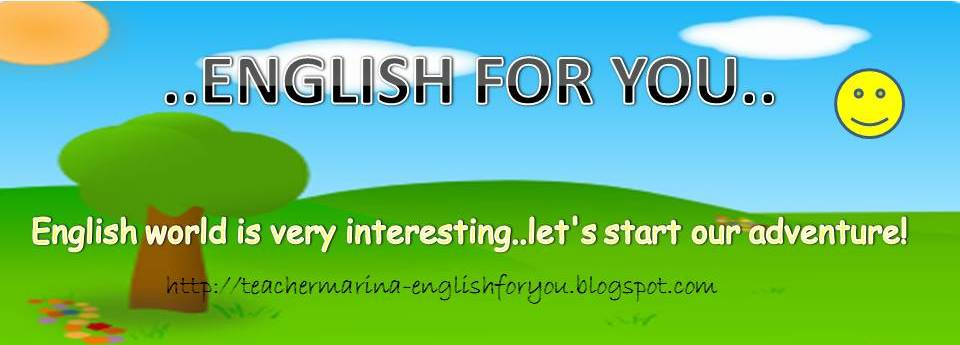 ENGLISH FOR YOU..^^,