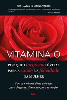 Capa do livro - VITAMINA O, Dra. Natasha Janina Valdez