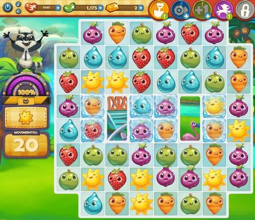 Nivel 33 Farm Heroes Saga