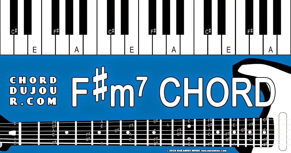 Chord du Jour: Dictionary: F#m7 Chord