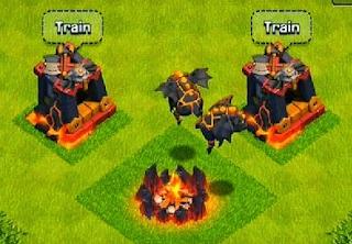 Lava Dark Barracks Level 6
