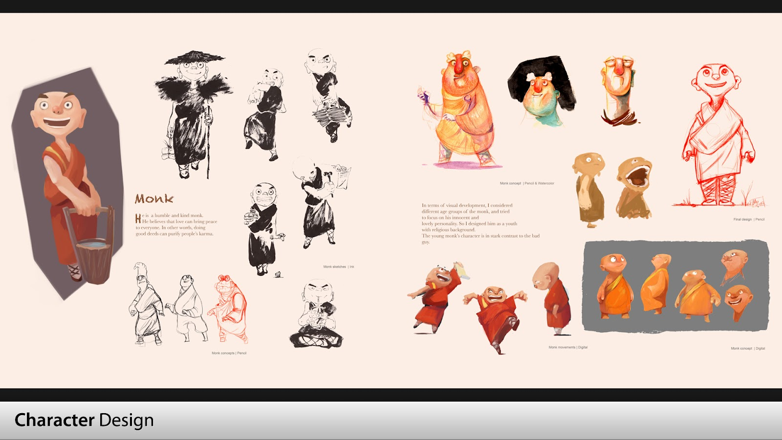 Character Design Quarterly 2 Visual Development : Mo yan art
